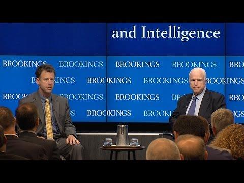 Sen. John McCain and Michael O'Hanlon discuss the 2017 National Defense Authorization Act