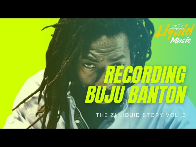 Recording Buju Banton For The First Time | My Story