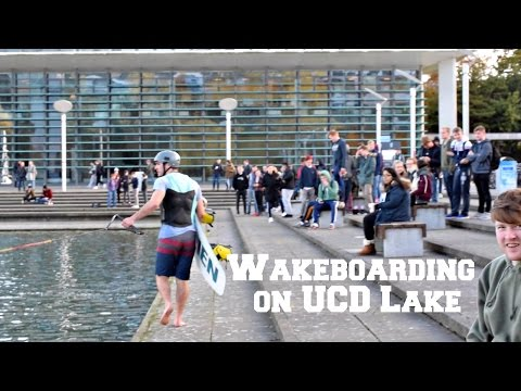 Going back to UCD to WAKEBOARD - Behind the scenes Vlog