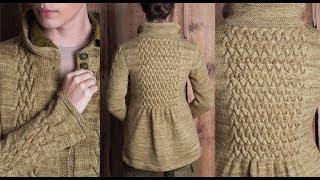 #20 Smocked Cable Coat, Vogue Knitting Fall 2010