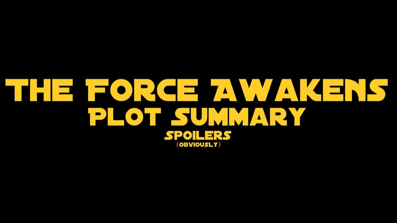star wars plot overview