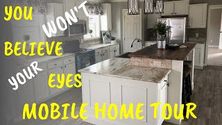 Biggest Mobile Home I Have Ever Been In! 32x90 4 Bed 3 Bath By Deer Valley Homebuilders | Home Tour