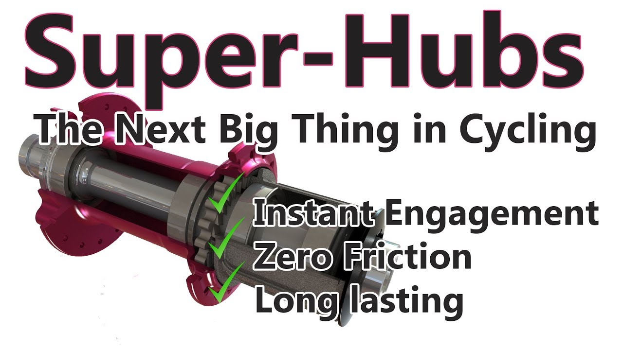 Cycling's next big thing? Superhubs: High Engagement, Silent & Low Friction!