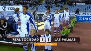 Video Gol Pertandingan Real Sociedad vs Las Palmas