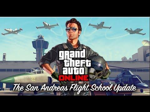 Grand Theft Auto Online The San Andreas Flight School Update Trailer