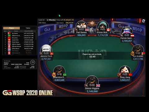 Final Table Do Evento 44 Da Wsop Online No Ggpoker 2 500 No Limit Hold Em 6 Handed Youtube