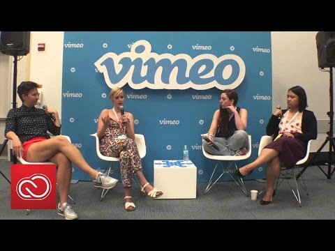 Smashing The Ceiling: Females In Film | VidCon 2015  | Adobe Creative Cloud