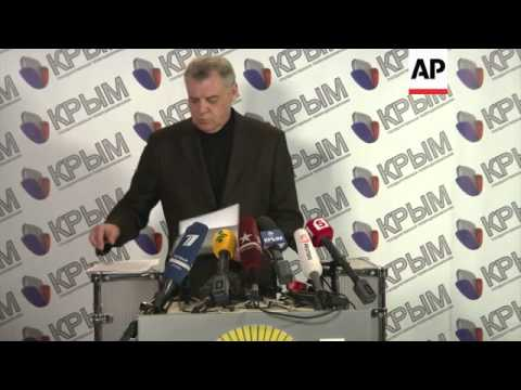 Chairman of Crimean election commission sets out rules for March 16 referendum