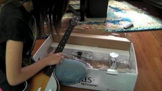 Beatles Rock Band Unboxing Wii