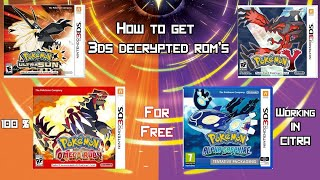 Download lagu HOW TO GET 3DS DECRYPTED ROM S 100 Working In Citra MP3