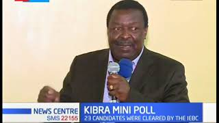 Residents of Kibra go to the polls on 7th November to elect the next member of parliament