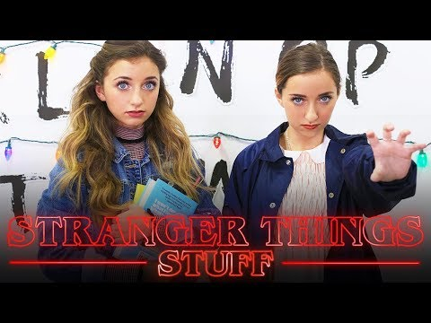 011 Stranger Things Must Haves! | Brooklyn and Bailey
