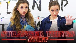 Stranger Things Must Haves! | Brooklyn and Bailey