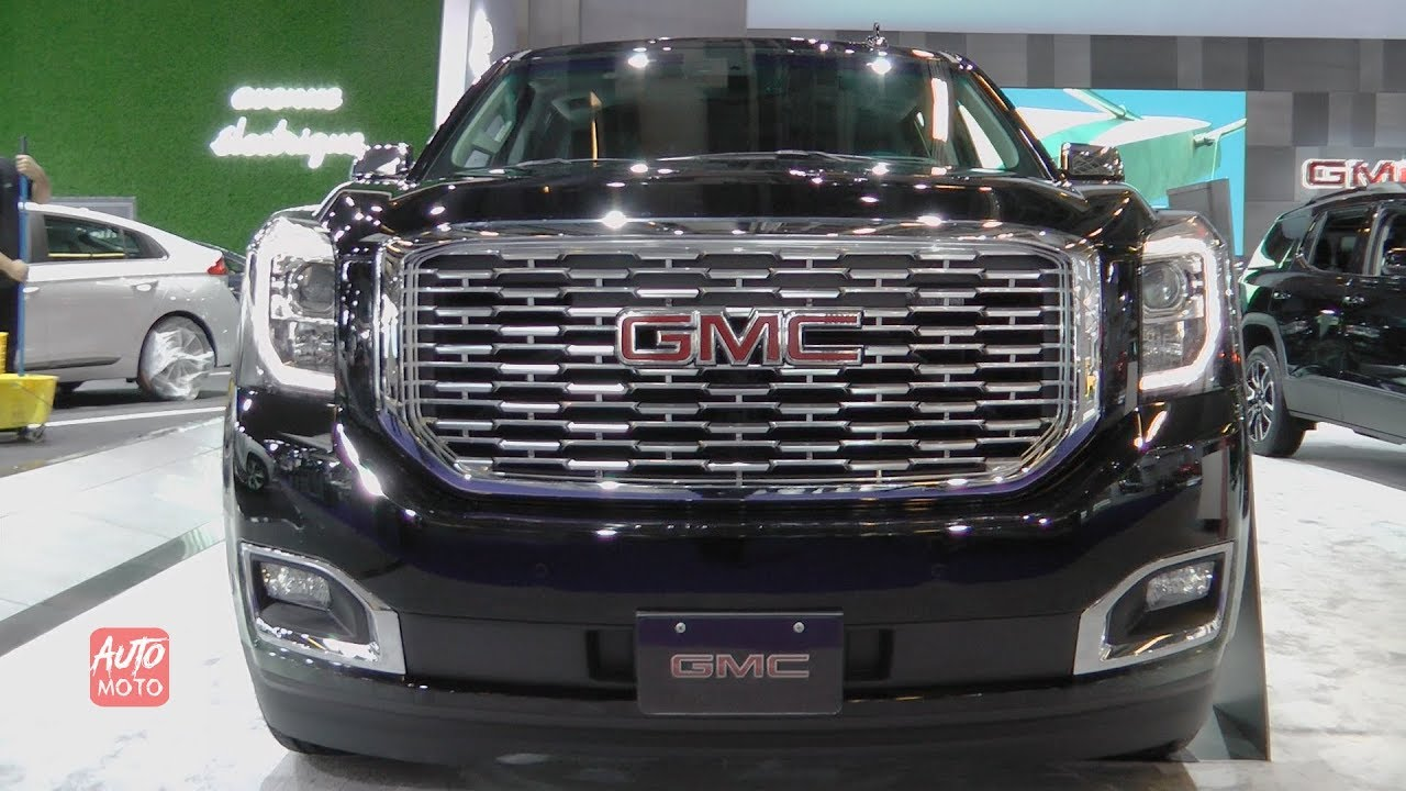 2019 Gmc Yukon Xl Denali Ultimate Black Edition Exterior And Interior 2019 Montreal Auto Show