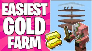 Easiest 1.16 Gold Farm In Survival!