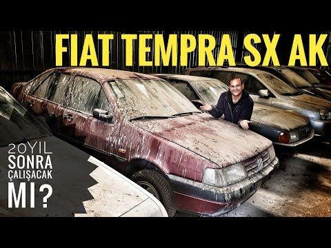 20 yıl önce terk edilmiş Fiat Tempra SX AK şimdi ne durumda? Çalışacak mı?