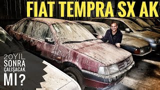 Fiat Tempa - Review and cold start after 22 years