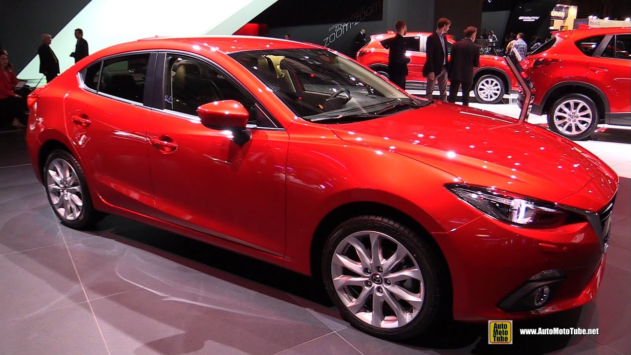 2015 mazda 3 4 door selection skyactiv d 2 2l diesel exterior interior walkaround youtube. Black Bedroom Furniture Sets. Home Design Ideas