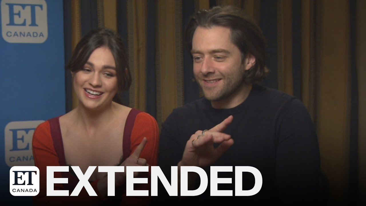 Sophie Skelton, Richard Rankin Apologize For 'Droughtlander', Tease 'Outlander' Season 5 | EXTENDED