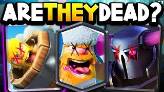 ARE THEY DEAD? Pro Breaks Down PEKKA, BARB BARREL & Lumberjack After Balance Update