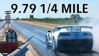 9.79 @ 139 MPH 2019 ZR1 Corvette 1/4 Mile Testing