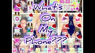 What's On My Phone?? LG G Stylo 2015| PrincessLexiseLicious