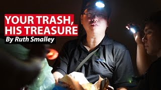 Your Trash, His Treasure: Dumpster Diving | CNA Insider