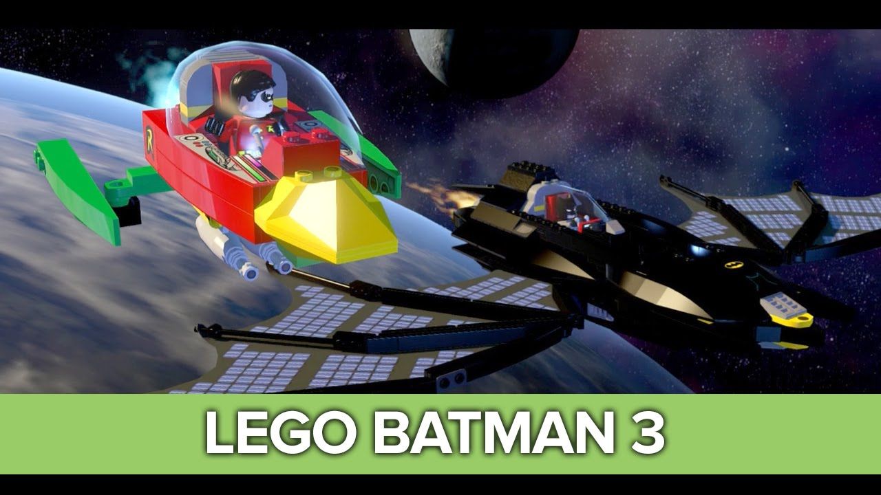 Let's Play Lego Batman 3: Xbox One Co-op Gameplay - YouTube