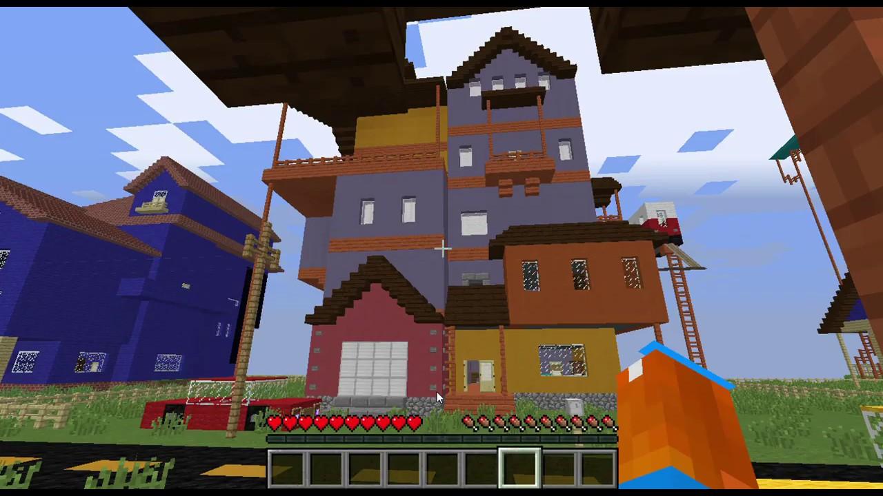 Hello Neighbor Alpha 1 Minecraft Lockpick Way Youtube