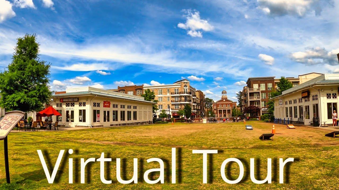 Download Alpharetta, GA - Downtown Walking Tour - 4K