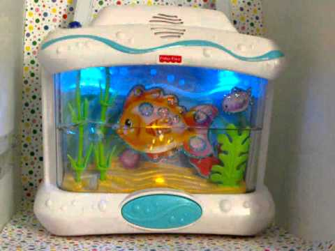 Fisher price ocean wonders aquarium crib soother remote for Fisher price fish bowl