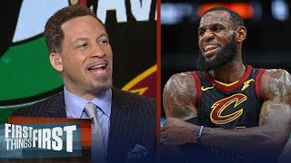 Chris Broussard on what LeBron did differently in Cavs win over Boston | NBA | FIRST THINGS FIRST