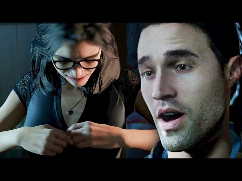IF YOU LIKE A BOY JUST TAKE OFF YOUR TOP !?!?! - Until Dawn #1