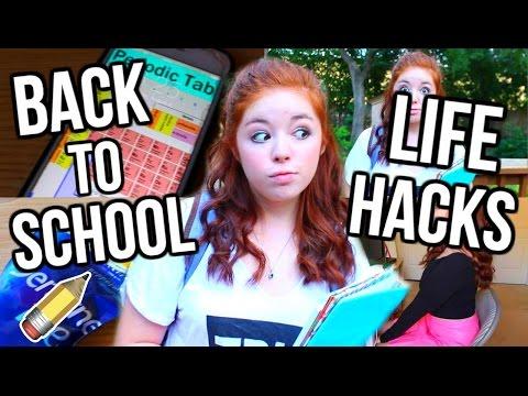 Life Hacks for Back to School!!!   CartneyBreanne