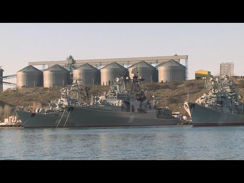 The Crimean port of Sevastopol, a strategic link between Russia and Syria