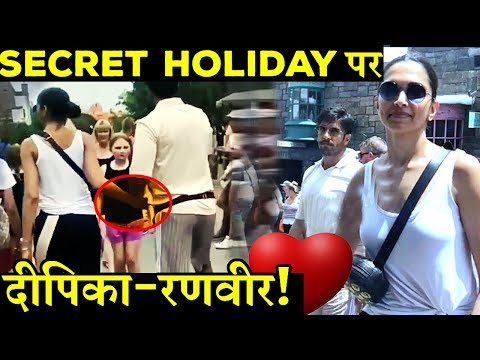 VIDEO: Deepika Padukone and Ranveer Singh Secretly Holidaying in Florida