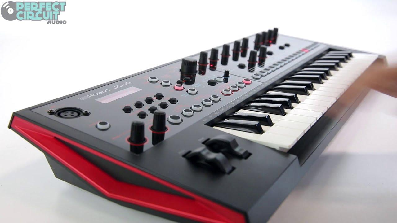 Roland JD-Xi Test - YouTube