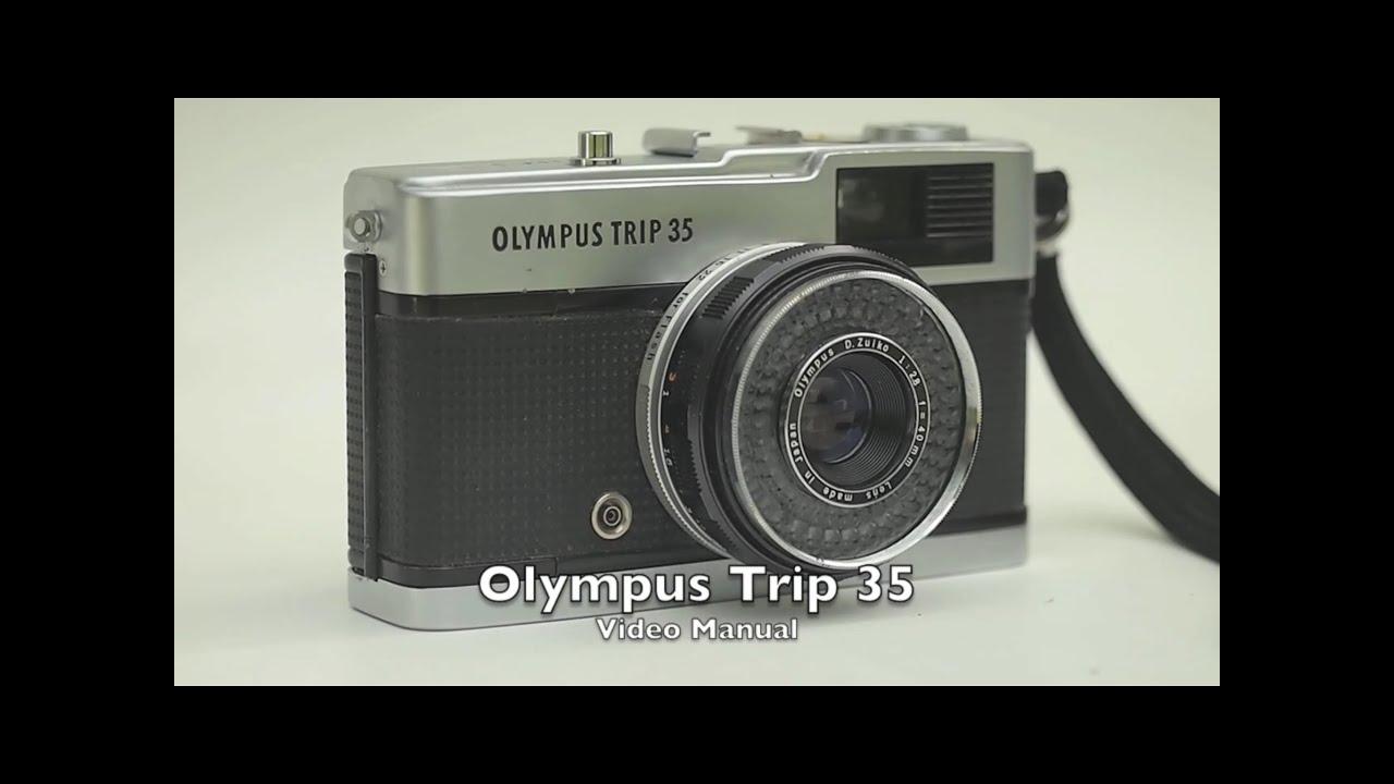 olympus trip 35 video manual youtube rh youtube com Olympus Stylus Epic Olympus PEN E-PL1