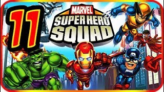 Marvel Super Hero Squad Walkthrough Part 11 (PS2, PSP, Wii) Mission : Iron Man (1)