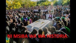 Ni Msiba wa Historia Iringa, Tazama Maelfu ya Watu Walivyojazana