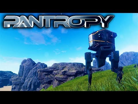 Pantropy - BUILDING A SCOUT MECH & LOOTING! - Let's Play Pantropy Gameplay Part 3 (Sci-fi MMOFPS RPG