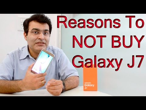 6 Reasons To Not Buy Samsung Galaxy J7- Crisp Review