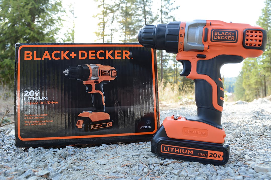 black and decker 2 speed 20 volt lithium cordless drill. Black Bedroom Furniture Sets. Home Design Ideas