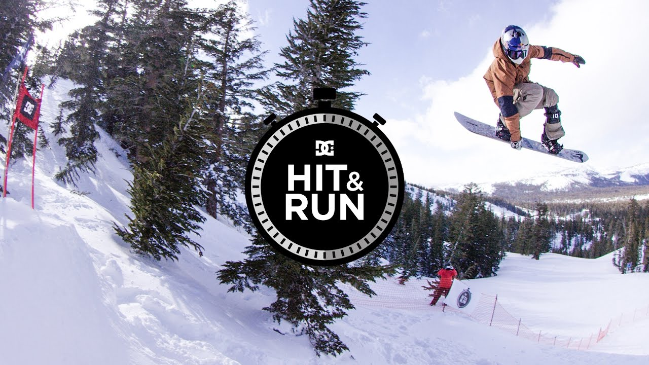 DC SHOES: HIT & RUN 2017 MAMMOTH, CA