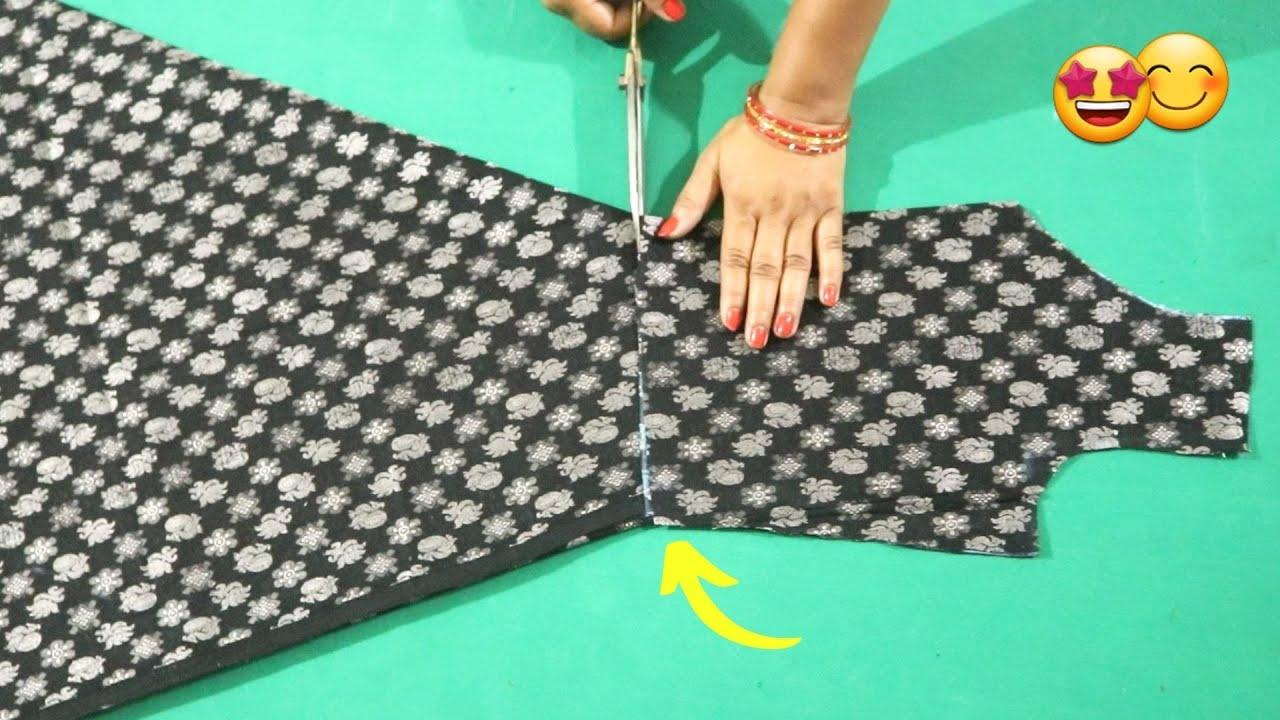 Umbrella Cut Kurti सबसे कम अर्ज  के कपडे में 👌👌   Kurti cutting and stitching