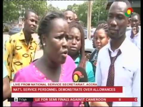 NSS personnel demonstrate over allowances at secretariat - 31/1/2017