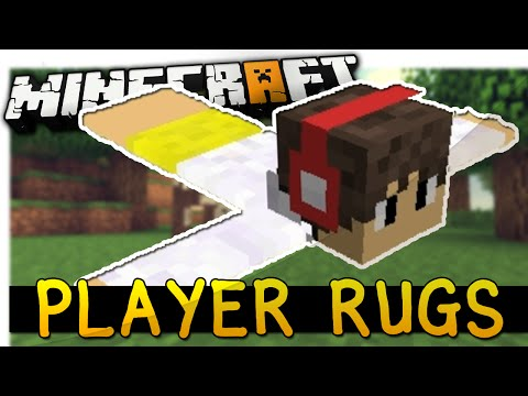 Minecraft: PLAYER RUG MOD