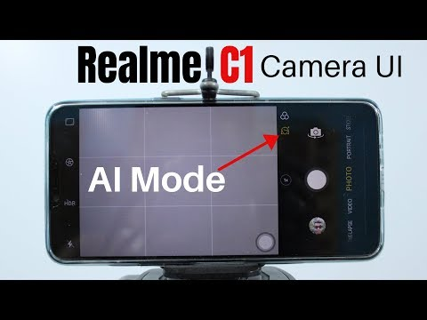 Realme C1 Camera User Interface | Settings | Beauty Mode | Depth Effect | Filters | AI Video