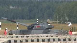 Танковый биатлон-2014. Летающие танки