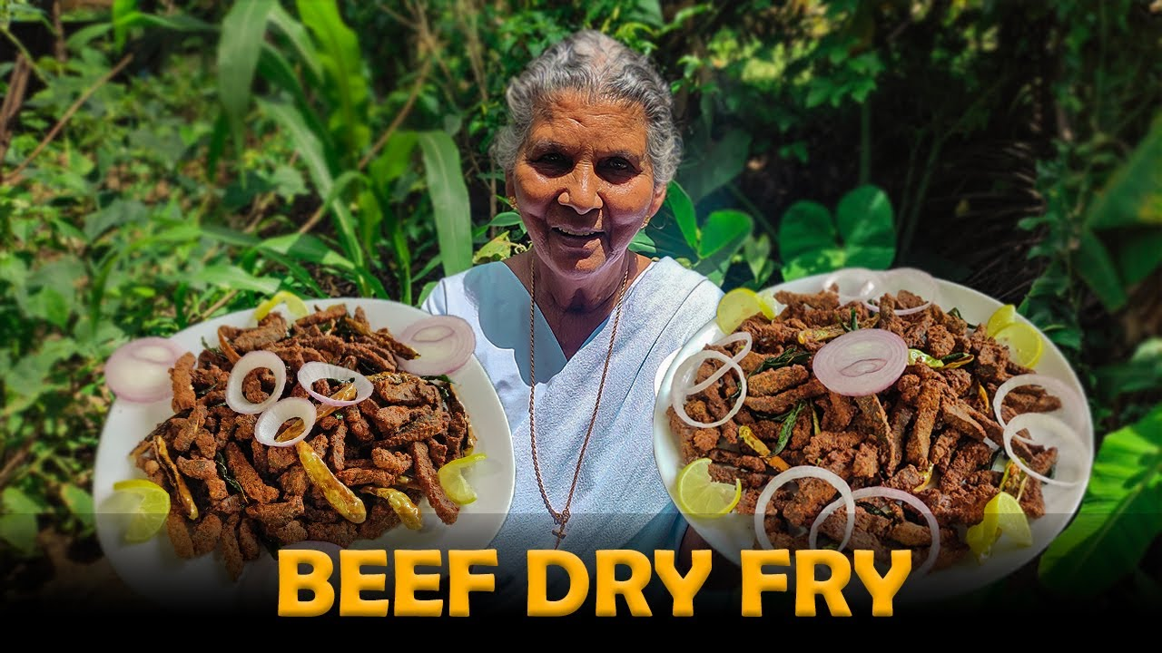 കൊതിയോടെ തിന്നാം നല്ല മൊരിഞ്ഞ ബീഫ് ഡ്രൈ ഫ്രൈ    Beef Dry Fry   Annammachedathi Special